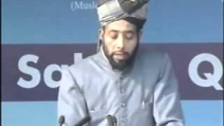 Burhan Zafar Sb- Seerath-e-Sahaba at Jalsa Qadian 2009 Day 3 Morning Part 4-5