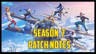 V7.0 Patch Notes | Fortnite Save The World