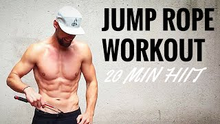 20 Min. Skipping Rope HIIT Workout