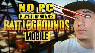 💀TESTEI O PUBG MOBILE NO PC NO ULTRA REALISTA! BLUESTACKS