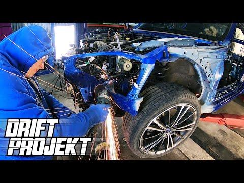 Rozbieranie Auta - Drift Projekt - Subaru BRZ #2 - YouTube