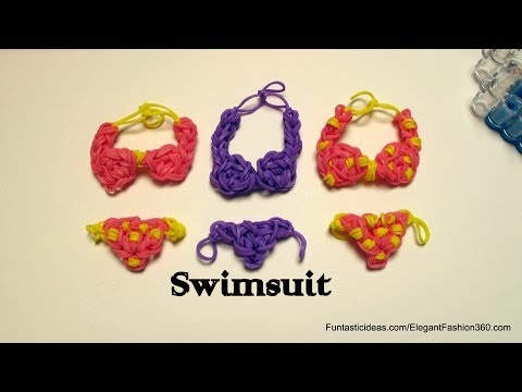 rainbow-loom-swimsuit/bikini-charm-emoji/emoticon--how-to--swimming-design