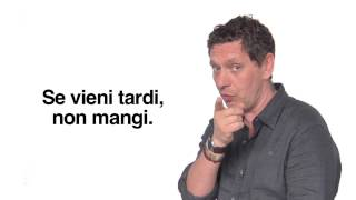 Repeat youtube video Italian Language Lessons: 8 Irregular Verbs