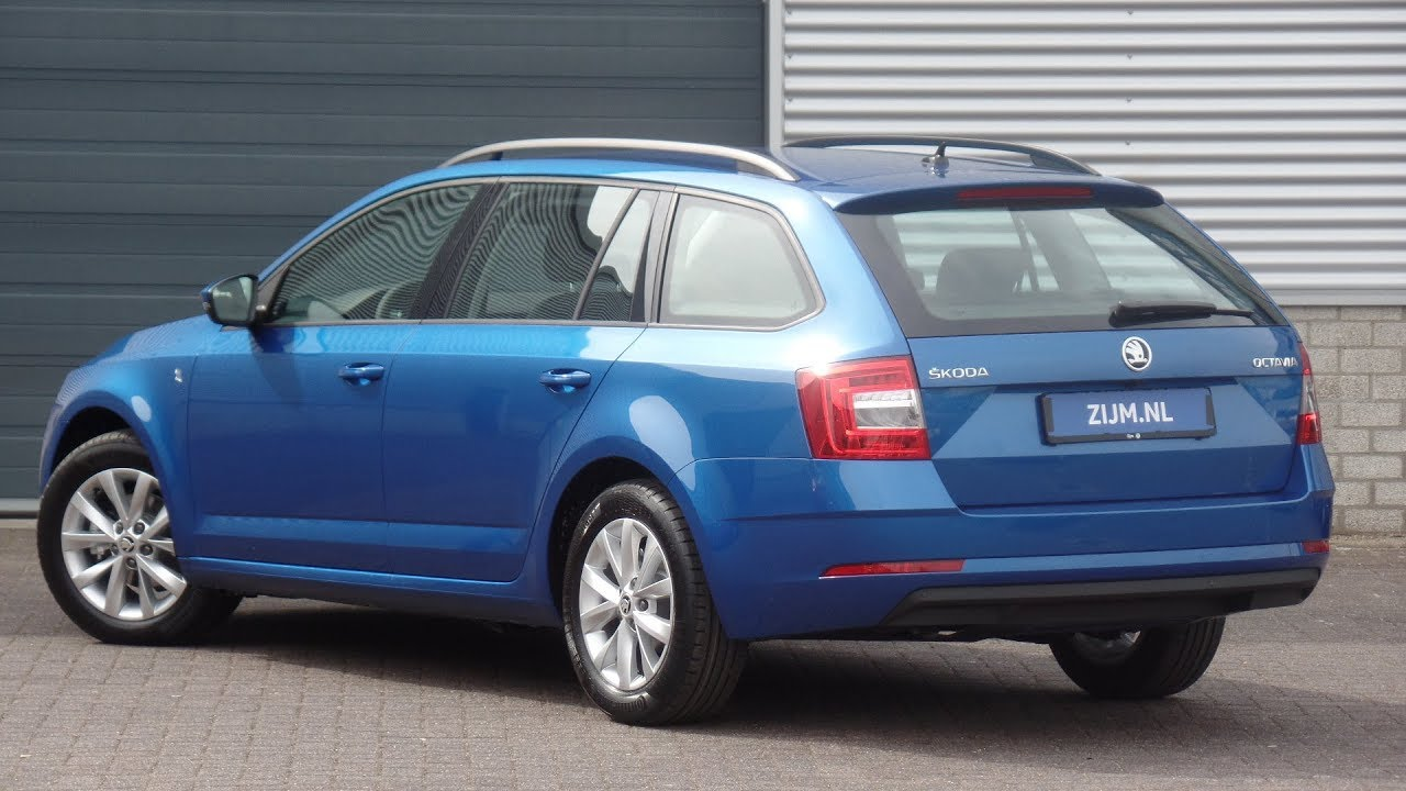 Skoda New Octavia Combi 2018 Race Blue Metallic Ambition Business