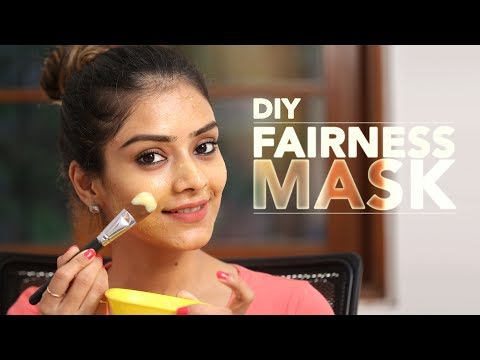 DIY Fairness Mask | Fairness Face Pack | Glowing Skin Face Mask | Instant Fairness Mask | Foxy