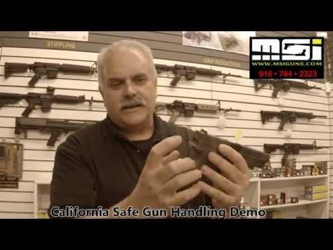 Safe Gun Handling Demo