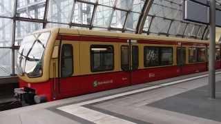 Berlin S-Bahn Class 481 ベルリンSバーン481型 ベルリン中央駅発車
