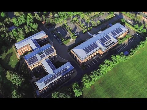 Solar PV Installation - Queens Park Campus - The University of Chester