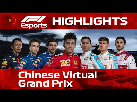 Chinese Virtual Grand Prix Highlights | Aramco