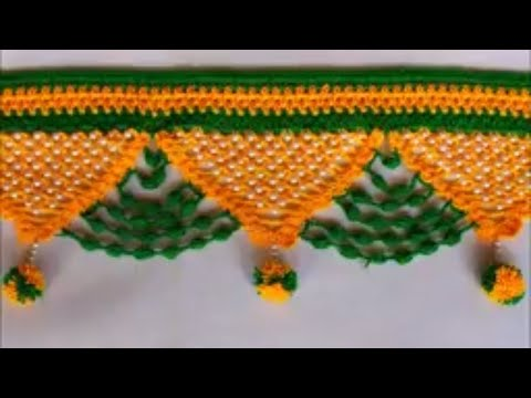 WOW !!!  Door Hanging Toran Making at Home || Toran Making Idea from Woolen | Toran Designs Handmade