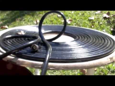 SOLAR HOT WATER with black garden hose Pondmaster 1200 gph