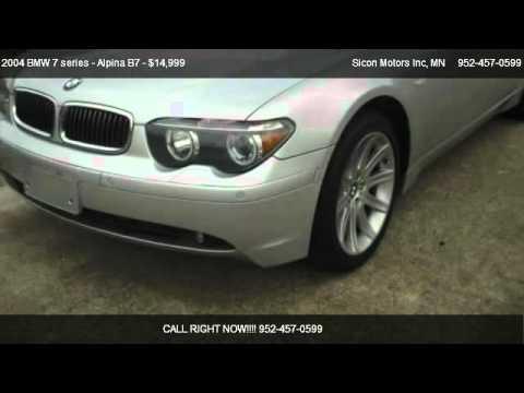 2004 BMW 7 series  Alpina B7 745li  for sale in Maplewood MN