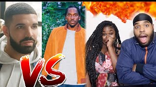 DID DRAKE END HIS CAREER?? 😳🔥 | Drake - Duppy Freestyle (Pusha T and Kanye West Diss) | REACTION!!!!