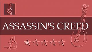 Mandolin TAB - Ezio's Family - Assassin's Creed II (Sheet Music)