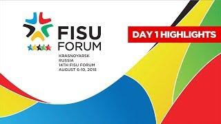 Let`s enjoy the best moments of the Forum! 📺  -  29th Winter Universiade Krasnoyarsk 2019