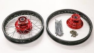 Tricks To Building Dirt Bike Wheels!