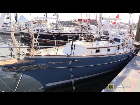 2017 Gozzard 41 Sailing Yacht - Deck and Interior Walkaround - 2017 Annapolis Boat Show