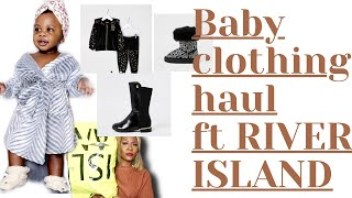RIVER ISLAND BABY CLOTHING HAU…