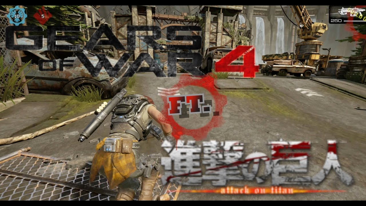 Download Gears Of War 4 Ft. Attack On Titan