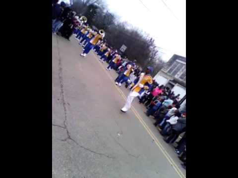 Velma Jackson high school marching band
