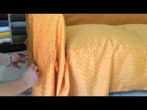 Como colocar una funda de Sillón Estándar - YouTube
