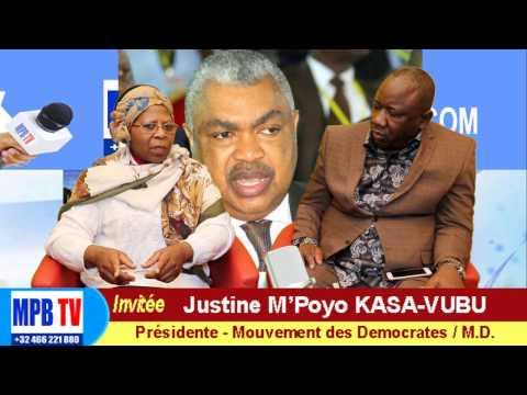 RDC-Badibanga glisse pour la Primature-La Belgique a-t-elle laché Kabila?Justine Kasa-Vubu réagit