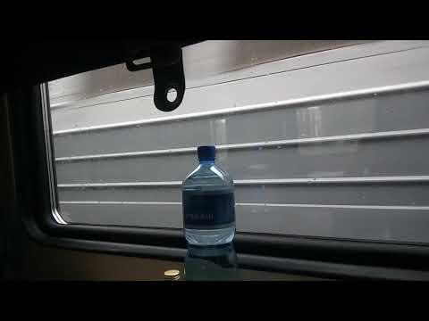 Поезд Чита-Москва во время самоизоляции.