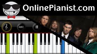 Maroon 5 - Animals (V Album) - Piano Tutorial (Easy Version)