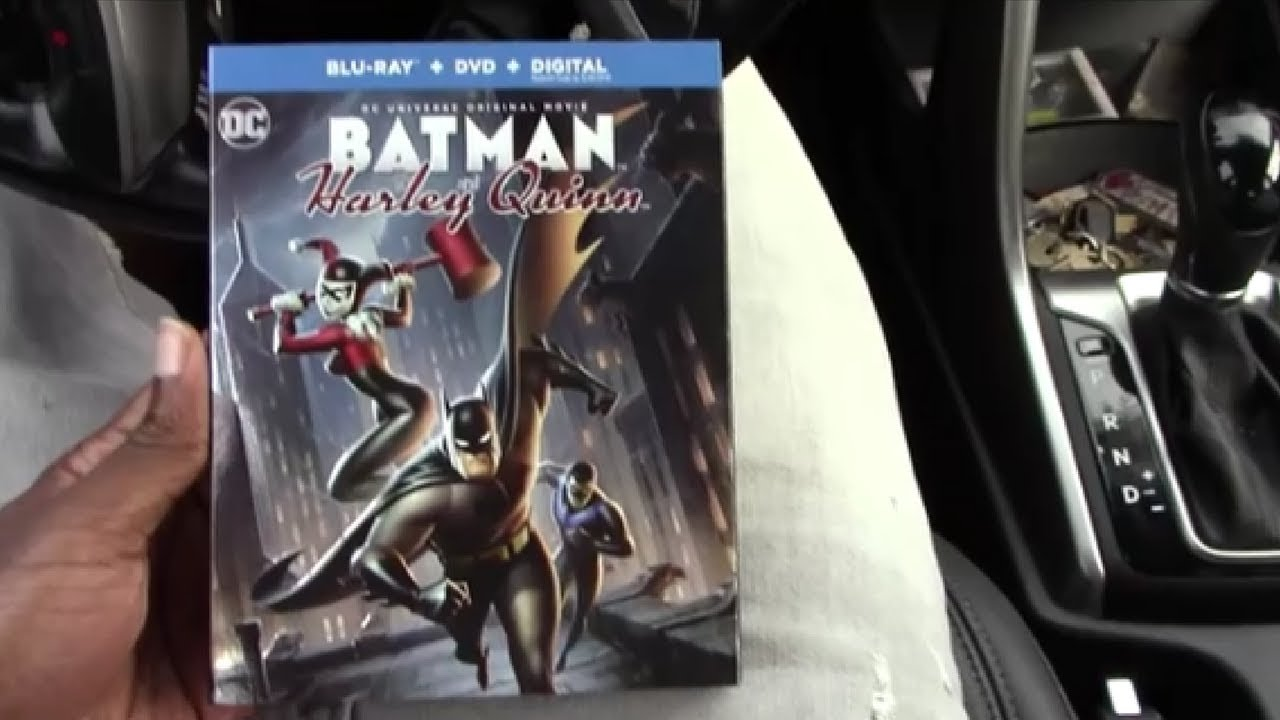batman and harley quinn blu ray unboxing youtube. Black Bedroom Furniture Sets. Home Design Ideas