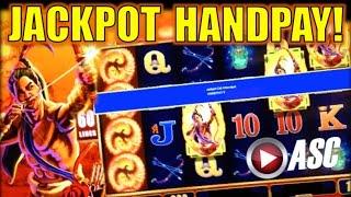 *JACKPOT HANDPAY!* 9 NINE SUNS | WMS - MAX BET BIG WIN! Slot Machine Bonus