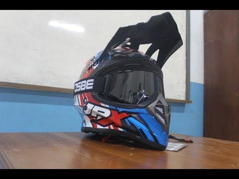 07 l Unboxing Helm JPX Cross X6  2017 l Worth it??  #adventure #supermoto