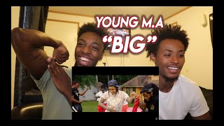 "Young M.A ""BIG"" (Official Music Video) - REACTION"
