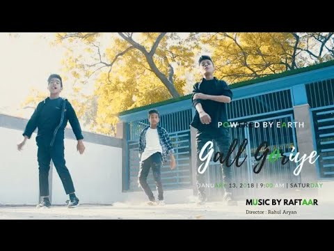 Gall Goriye-Raftaar feat. Maninder buttar-jaani-By model dance group-choreography by Aryan verma