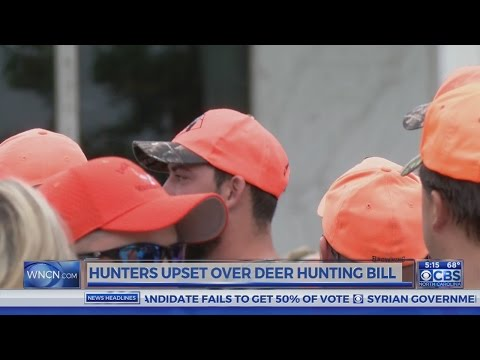 Hunters Upset Over NC Deer Hunting Bill