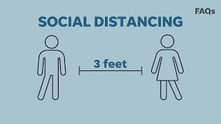 Why social distancing is critical to curbing the coronavirus pandemic | Just The FAQs