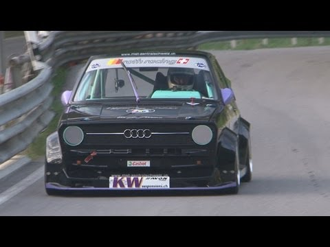 AUDI SPECIAL - Audi TT-R DTM, Audi RS2, Audi 50  at Hillclimb Switzerland