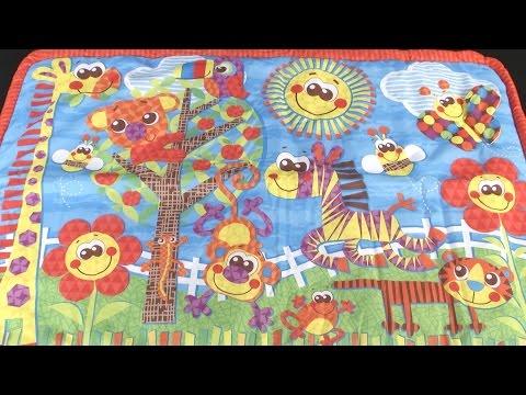 Sunny Safari Travel Play Mat from Playgro