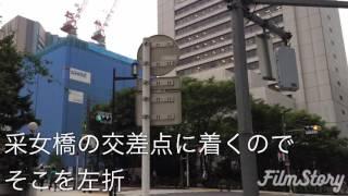 国立がん研究センター中央病院に行こう(東銀座駅から編)