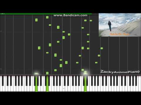 Fairy Tail Ending 6 - Be As One - Synthesia Piano Arrange By ZackyAnimePiano