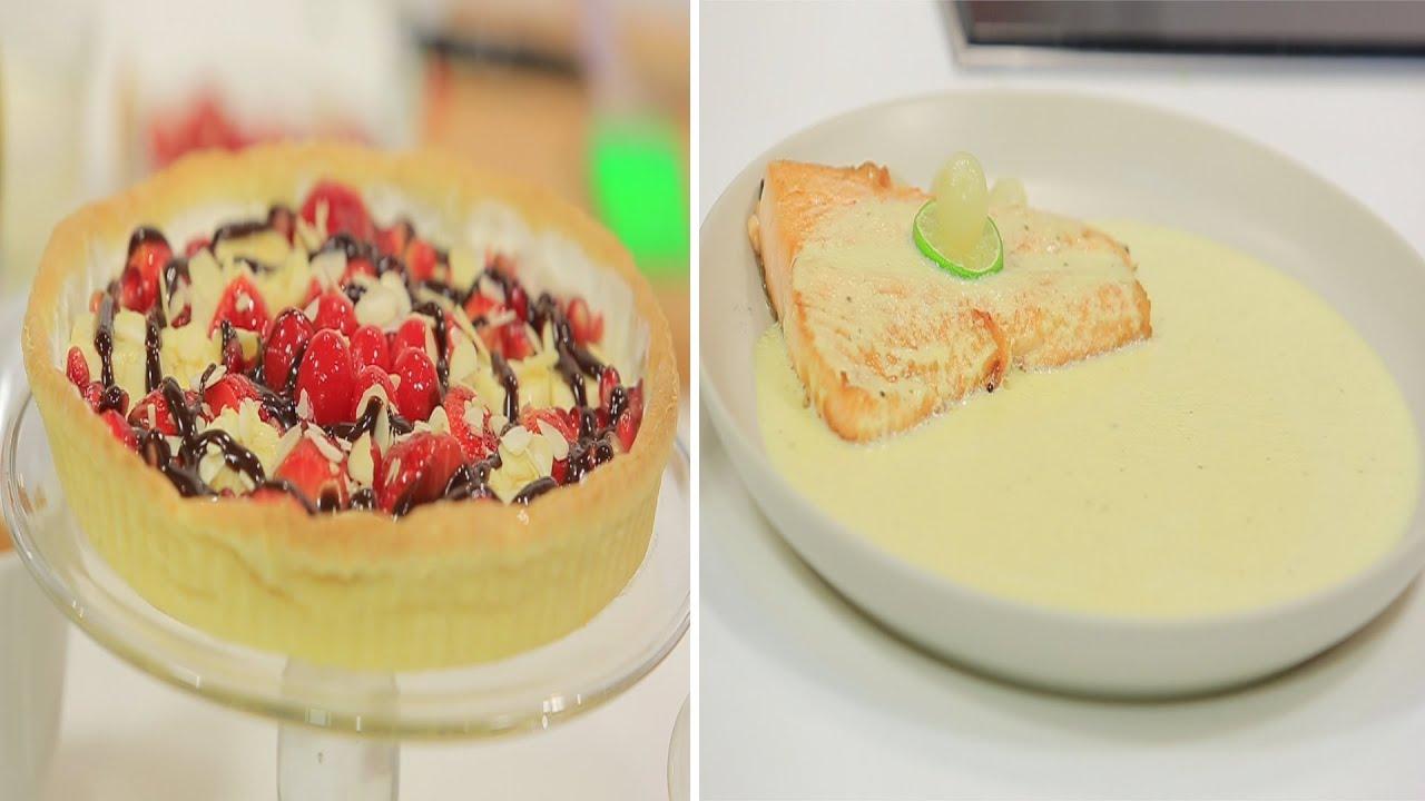 سمك سلمون مع صوص البيض المسلوق و وصفات أخرى : طبخة ونص الحلقة كاملة