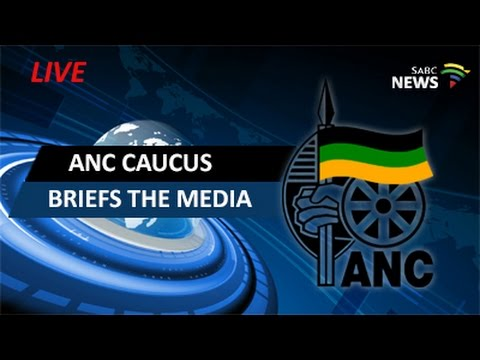 ANC caucus briefs the media, 11 October 2016
