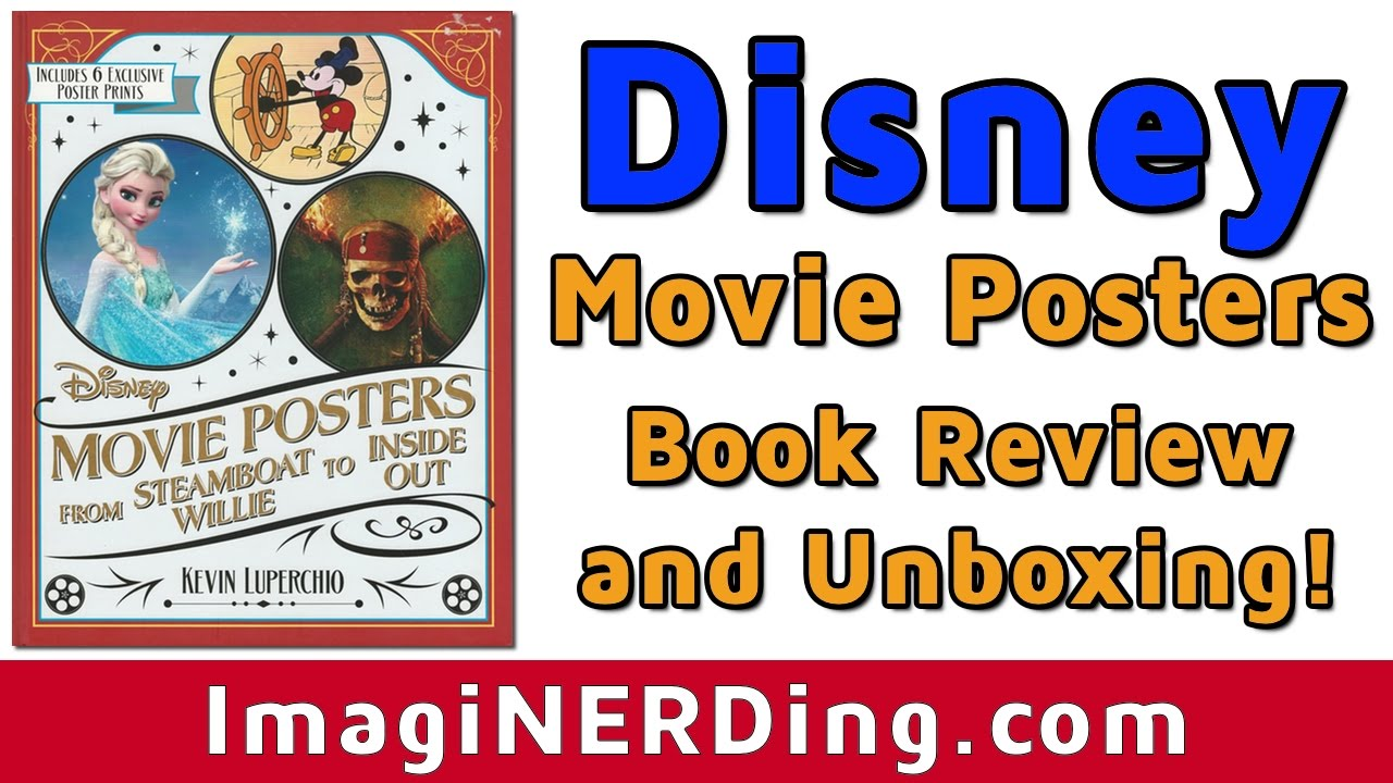 Disney Movie Posters: Disney Movie Posters Book (2016 Costco) Review And