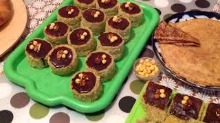 Самаркандские   Жаренный Горох и пироженное