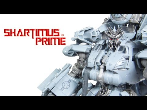 Transformers Studio Series Blackout Leader Class Hasbro Takara Tomy Movie Action Figure Toy Review
