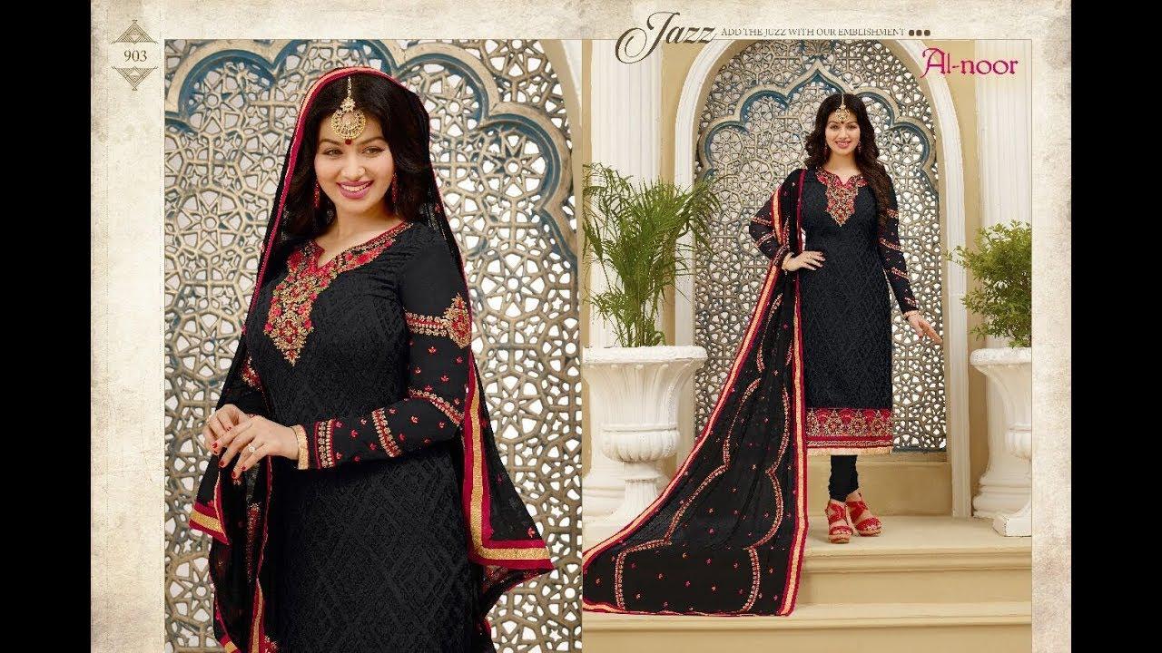 Latest Indian Dresses Collections 2018 Ayesha Takia Wedding Al Noor Star Bro