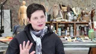 Enemy interview with Isabella Rossellini