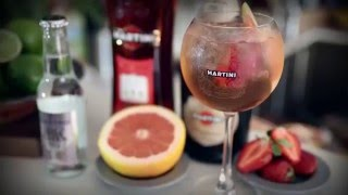 Martini Rosato Spritz | How To Mix | Drinks Network