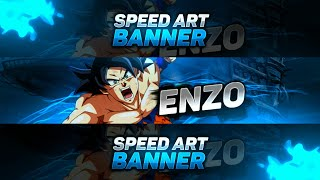 SpeedArt#1//Banner para Enzo//Diseño By DARK