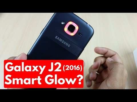 Samsung Galaxy J2 (2016) | How to Use Smart Glow? Explained