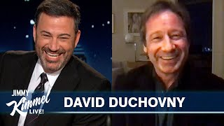 David Duchovny on Voting, Aliens & The Bachelorette